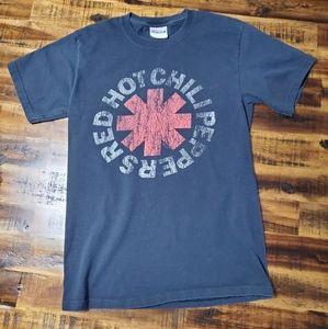 Red Hot Chili Peppers RHCP Distressed Logo Tshirt